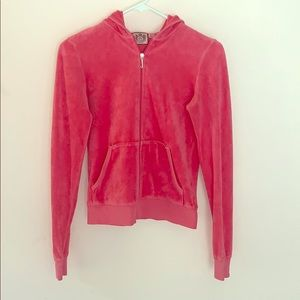 Vintage Juicy Couture Pink Velour track Jacket